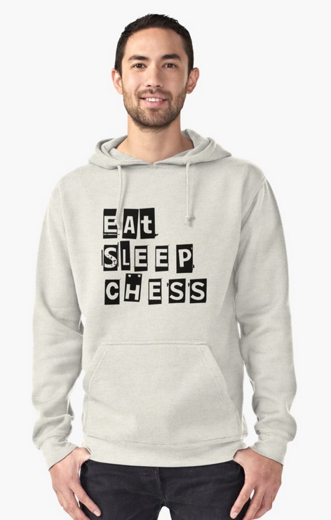 Chaqueta Eat Sleep Chess de Ajedrez de Elite